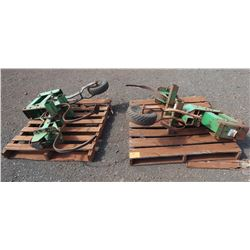 Qty 2 John Deere Plow Attachments
