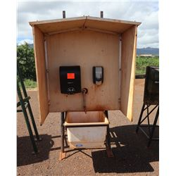 Field Handwash Station w/ Tank, Sink Shelter