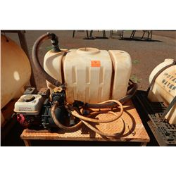Plastic Fertilizer Tank w/ Honda Gas Pump