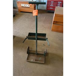 Rolling Cart for Welding Tanks