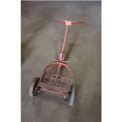 Rolling Cart for Welding Tanks (red)