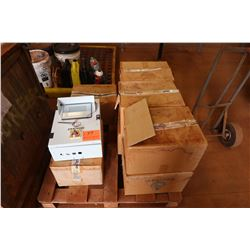 Contents of Pallet: Urbanati Control Boxes, etc.