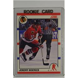 1990-91 Score Canadian #179 Jeremy Roenick RC