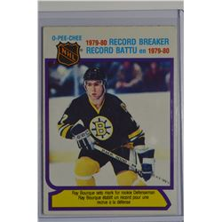 1980-81 O-Pee-Chee #2 Ray Bourque RB/65 Pts. for Rookie Defenseman