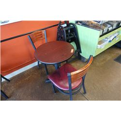 Small Round Table w/ 2 Chairs