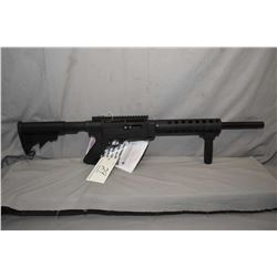 """Ruger Model SR - 22 .22 LR Cal Mag Fed Semi Auto Rifle w/ 18 1/2"""" Tactical Solutions vented ported b"""