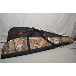 Bundle Lot : Two New Soft Gun Cases [ Ruger 10 / 22 - Plano Black & Camo toned ]