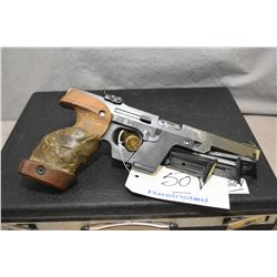 Restricted - Walther Model GSP .22 LR Cal 5 Shot Semi Auto Pistol w/ 108 mm bbl [ appears v - good,