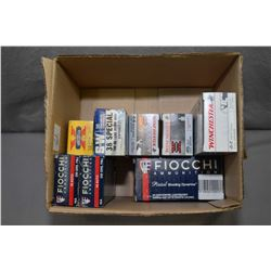 Box Lot : 4 Boxes ( 50 rnds per ) Fiocchi .45 Auto Cal Ammo - 2 Boxes ( 50 rnds ) S & W Western X .3