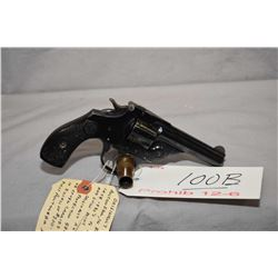 12 - 6 Prohib Iver Johnson Model Safety Hammer Automatic .32 S & W Cal 5 Shot Revolver w/ 76 mm bbl