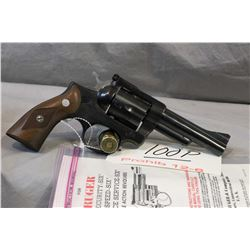 Prohib 12 - 6 Ruger Model Security Six .357 Mag Cal 6 Shot Revolver w/ 102 mm bbl [ blued finish, ch