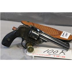 Prohib 12 - 6 Iver Johnson Model Safety Hammerless Automatic .32 S & W Cal 5 Shot Revolver w/ 102 mm