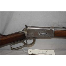 """Winchester Model 1894 .25 - 35 WCF Cal Lever Action Rifle w/ 26"""" rnd bbl full mag [ traces of faded"""