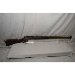 """Winchester Model 1886 .40 - 65 WCF Cal Lever Action Rifle w/ 26"""" octagon bbl full mag [ patchy fadin"""