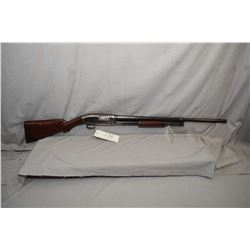 """Winchester Model 1912 .16 Ga Pump Action Shotgun w/ 26"""" bbl [ fading blue finish more on carry areas"""