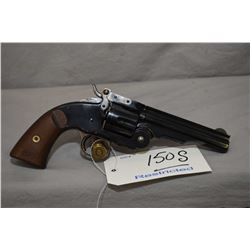 Restricted Uberti Model Smith & Wesson Model 2 Schofield Reproduction .45 Colt Cal 6 Shot Revolver w