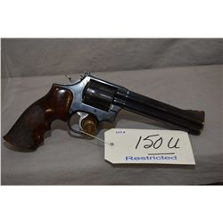Restricted Smith & Wesson Model 586 .357 Mag Cal 6 Shot Revolver w/ 152 mm bbl [ appears v - good, f