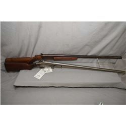 "Lot of Two Firearms : Cooey by Winchester Western Model 840 .12 Ga Single Shotgun w/ 30"" bbl [ blued"