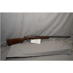 "Winchester Model 67 .22 LR Cal Single Shot Bolt Action Rifle w/ 27"" bbl [ fading blue finish turning"