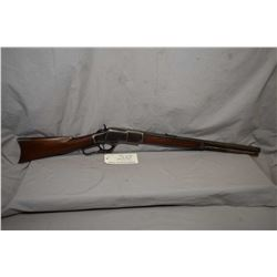 Winchester Model 1873 ( .22 Rimfire Rifle ) .22 Short Cal Lever Action Rifle w/ barrel shortened to