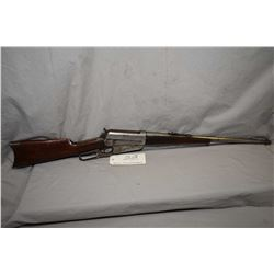"""Winchester Model 1895 .30 US Cal ( .30 - 40 Krag Cal ) Lever Action Rifle w/ 21 1/4"""" bbl [ fading bl"""