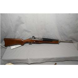 """Ruger Model Mini 14 .223 Cal Mag Fed Semi Auto Carbine w/ 18 1/2"""" bbl [ appears as new, in orig box,"""