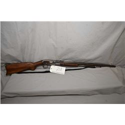 """Remington Model 12 .22 Rem Spec ONLY Cal Tube Fed Pump Action Rifle w/ 24"""" octagon bbl [ fading blue"""