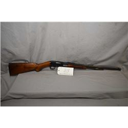 """Browning Model Trombone .22 Long Cal ONLY Tube Fed Pump Action Rifle w/ 22"""" bbl [ good blued finish,"""