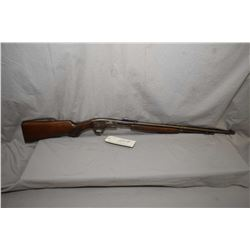 """Savage Model 29 - A .22 LR Cal Tube Fed Pump Action Rifle w/ 24"""" bbl [ faded blue finish turning bro"""