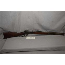 """Winchester Model 1892 .44 WCF Cal Lever Action Rifle w/ 21 1/4"""" round bbl full mag [ fading blue fin"""