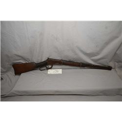 """Winchester Model 1894 .30 WCF Cal Lever Action Saddle Ring Carbine w/ 20"""" bbl [ gun appears poor, ru"""