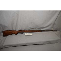 """Winchester Model 67 .22 LR Cal Single Shot Bolt Action Rifle w/ 27"""" bbl [ traces of patchy blue fini"""