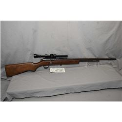 """Cooey Model 60 .22 LR Cal Tube Fed Bolt Action Rifle w/ 24"""" bbl [ fading blued finish with various m"""