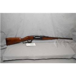 """Savage Model 1899 Take Down .22 Hi Power Cal Lever Action Rifle w/ 20"""" bbl [ fading blue finish, bar"""