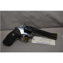 Restricted - Smith & Wesson Model 586 .357 Mag Cal 6 Shot Revolver w/ 152 mm bbl [ appears excellent