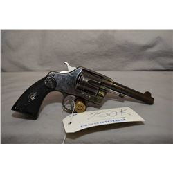 Restricted Colt Model 1892 New Army and Navy Double Action ? ( barrel marked Colt DA 38 ) .38 Cal 6