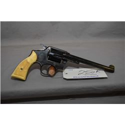 Restricted Smith & Wesson Model 38 Hand Ejector Military & Police Victory .22 LR Cal 6 Shot Revolver