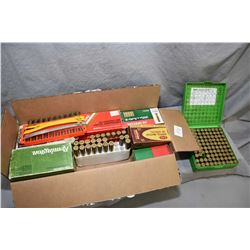 Box Lot : Four & Part Boxes .38 Spec Cal Ammo - 2 Boxes Bullets - Approx. 115 Rnds .41 Mag Cal Ammo