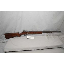 "Cooey Model 60 .22 LR Cal Tube Fed Bolt Action Rifle w/ 24"" bbl [ fading blue finish, back barrel si"