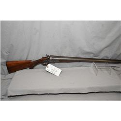 "Janssen & Sons & Co. Model The Interchangeable .12 Ga Side By Side Hammer Shotgun w/ 26"" bbls [ fade"