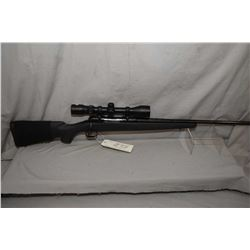 "Savage Model 11 Combo .243 Win Cal Mag Fed Bolt Action Rifle w/ 22"" bbl [ blued finish, no sights, b"