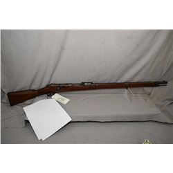 Mauser ( Spandau ) Model 1871 / 84 .11 MM Mauser Cal Tube Fed Bolt Action Full Wood Military Rifle w