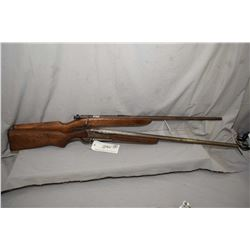 Lot of Two Firearms : Remington Model 41 Targetmaster .22 LR Cal SIngle Shot Bolt Action Rifle w/ 27