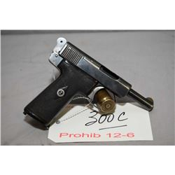 Prohib 12 - 6 Webley & Scott Model Metropolitian Police 7.65 MM Cal 7 Shot Semi Auto Pistol w/ 89 mm