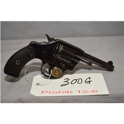 Prohib 12 - 6 Colt Model Pocket Positive .32 Cal 6 Shot Revolver w/ 89 mm bbl [ fading blue finish w