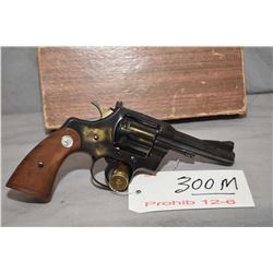 Prohib 12 - 6 Colt Model Trooper .22 LR Cal 6 Shot Revolver w/ 102 mm bbl [ appears excellent, blued
