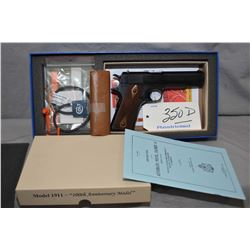 Restricted Colt Model 1911 ANV III 0 Series Colt's 100th Anniversary Edition ( Model of 1911 - 2011