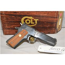Restricted - Colt Model Ace Service .22 LR Cal 10 Shot Semi Auto Pistol w/ 127 mm bbl [ appears exce