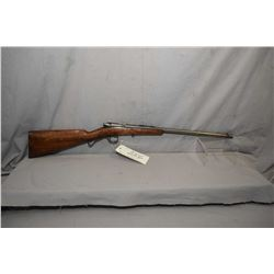 """Savage Model 1904 .22 LR Cal Single Shot Bolt Action Boy's Rifle w/ 18"""" bbl [ traces of blue, fading"""
