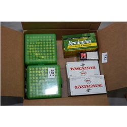 Box Lot : 3 Boxes ( 50 rnds per ) Winchester Win Clean .357 Mag Cal 125 Gr JSP Ammo - Two Plastic Co